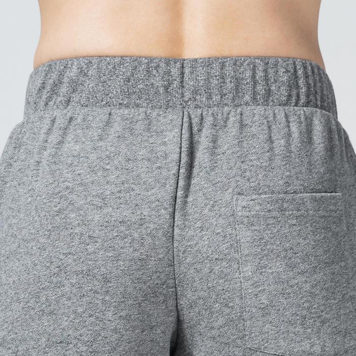 Trainingsbroek voor heren 500 grijs regular fit