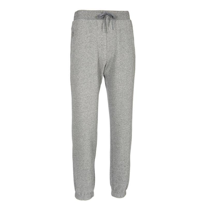 Pantalon trening regular călduros stretching 500 Gri bărbați