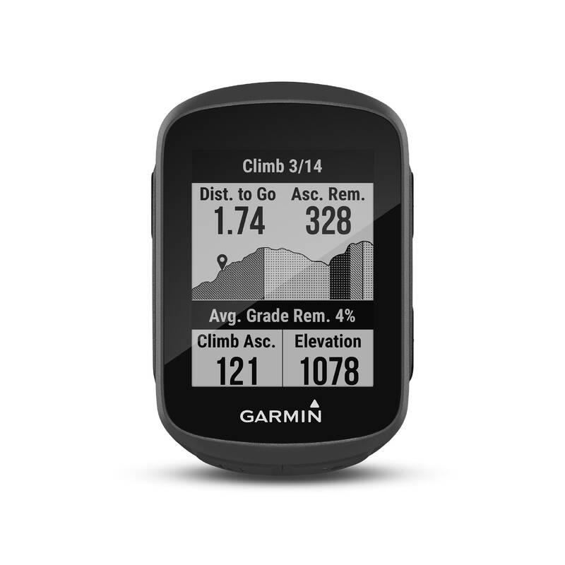 CYKLO TACHOMĚRY Cyklistika - CYKLISTICKÁ GPS EDGE 130 PLUS GARMIN - Příslušenství na kolo