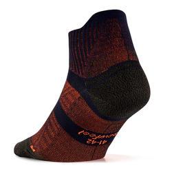 Chaussettes marche sportive, nordique, athlétique WS 900 Low marine / rouge