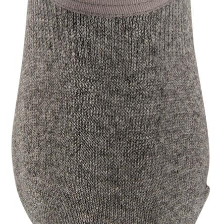 Шкарпетки WS 100 для спортивної/скандинавської ходьби, 3 пари - Світло-сірі