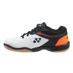 Chaussures de BADMINTON homme PC 65 R Blanc Orange