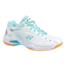 Chaussure de Badminton femme PC-65 X WOMEN Blanc