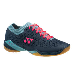 Badmintonschoenen voor heren PC ECLIPSION Z WIDE marineblauw