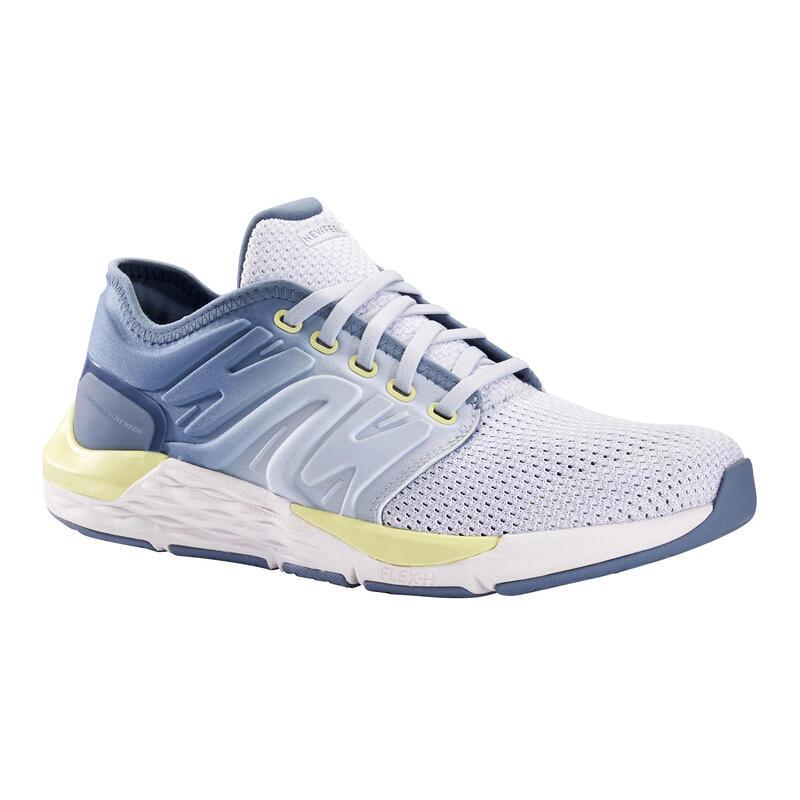 Scarpe camminata sportiva SPORTWALK CONFORT azzurro-grigio