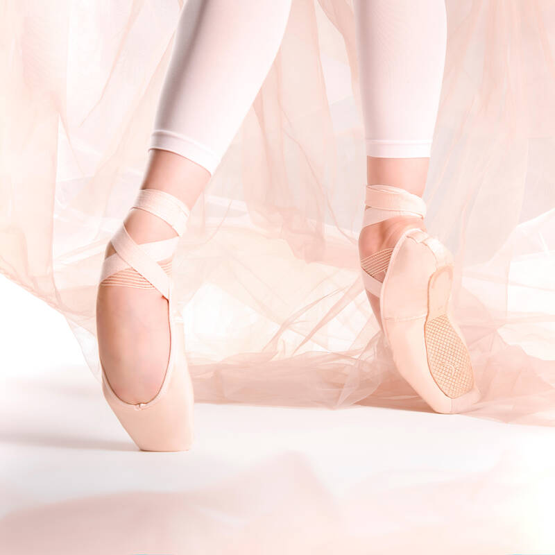 BALETNÍ OBUV Balet - ŠPIČKY S MĚKKOU PODEŠVÍ STAREVER - Balet
