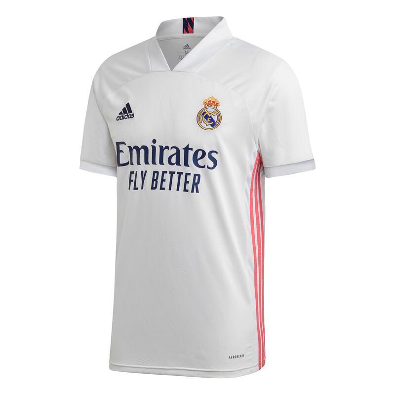 Kids' Real Madrid Home Football Shirt 20/21