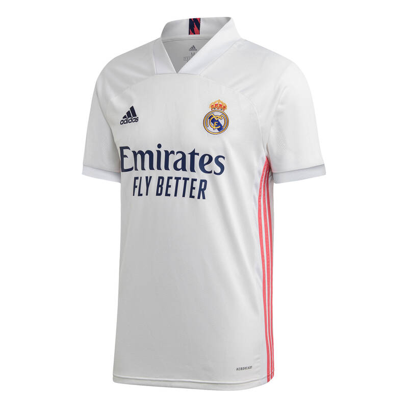 REAL MADRID Fotbal - DRES REAL MADRID JR 2020/21 ADIDAS - Fotbalové oblečení