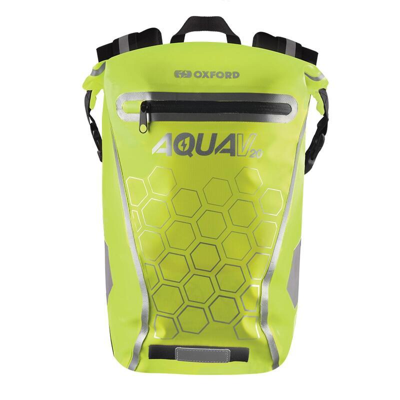 Aqua V 20L Waterproof Cycling Commuter Backpack, OL697 - Yellow