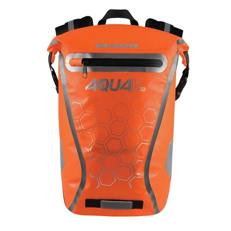 Aqua V 20L Waterproof Cycling Commuter Backpack, OL698 - Orange