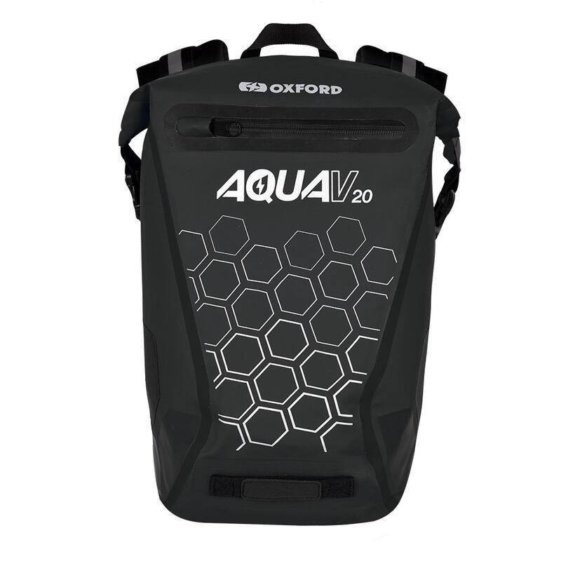 Aqua V 20L Waterproof Cycling Commuter Backpack, OL695 - Black