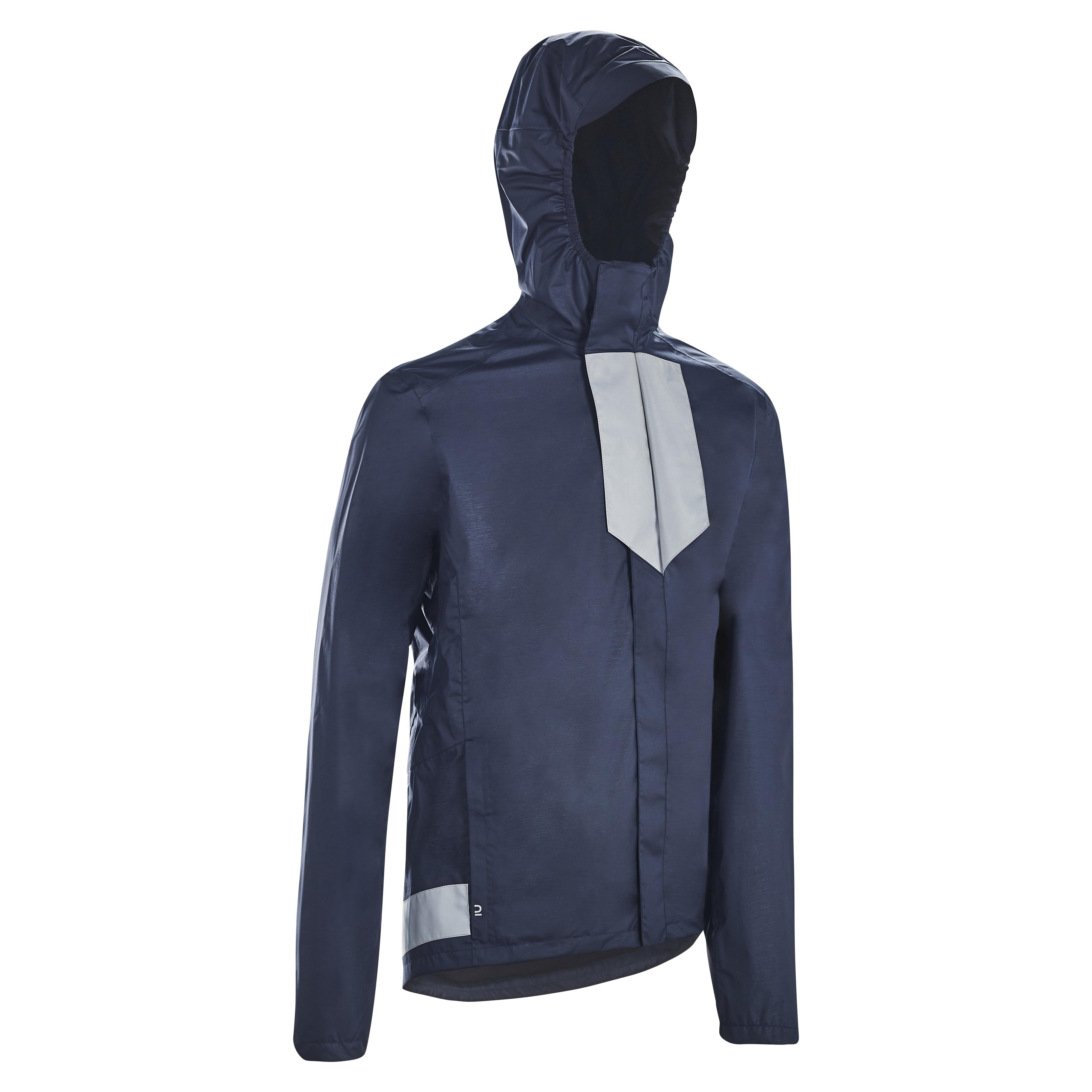 Jachetă ploaie ciclism 500 la Reducere poza