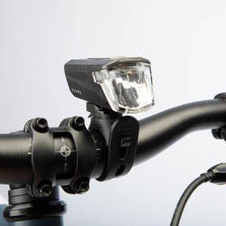 Fahrradbeleuchtung Set Front-/Rücklicht ST 100 LED 25 Lux batteriebetrieben