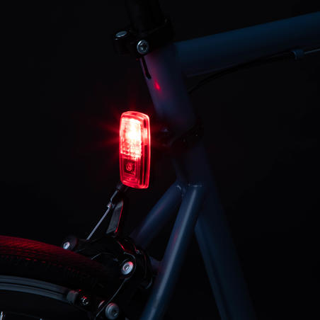 Front and Rear Battery-Powered LED Bike Light Set ST 110