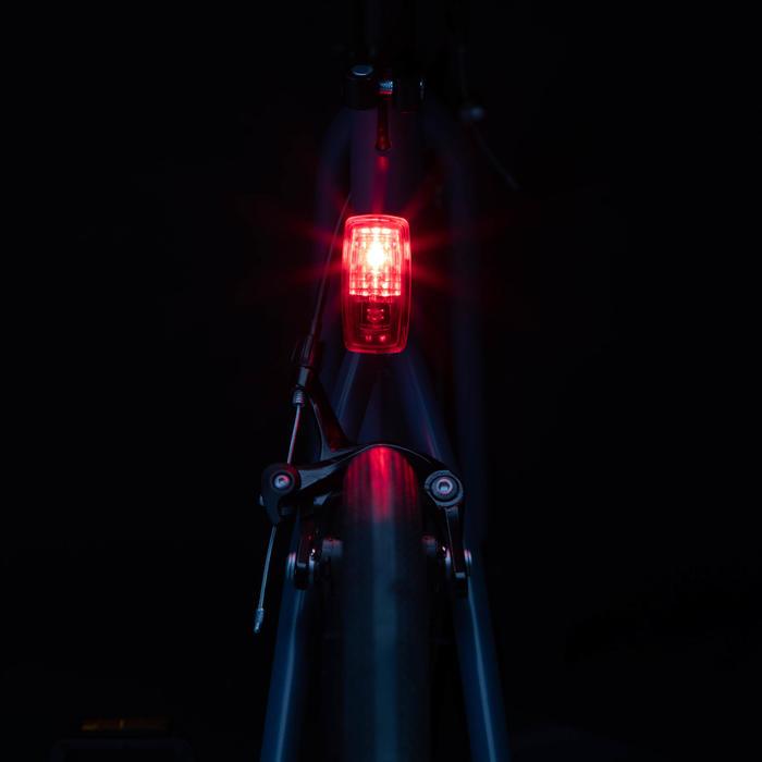 FIETSVERLICHTING LED ST 110 VOOR/ACHTER OP BATTERIJEN