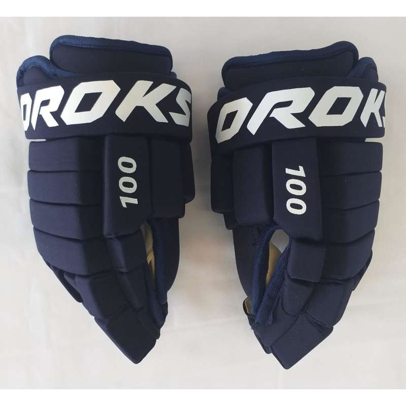 ДЕТСКАЯ ХОККЕЙНАЯ ЭКИПИРОВКА АРЕНА Хоккей - Перчатки для хоккея 100 дет. OROKS - Экипировка
