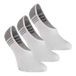 Chaussettes marche sportive/nordique WS 100 Invisible blanc (3 paires)
