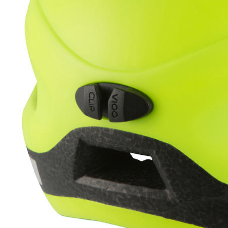 500 City Cycling Helmet - Neon Yellow