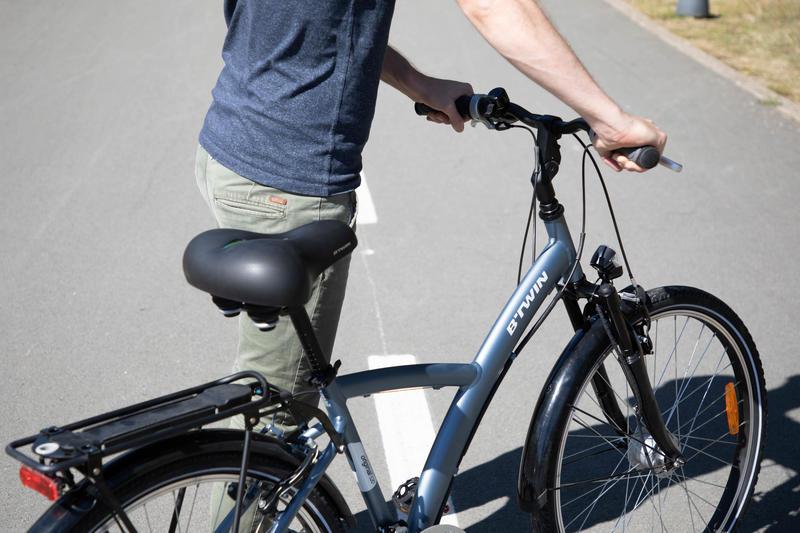 City 900 Gel Bike Saddle XL