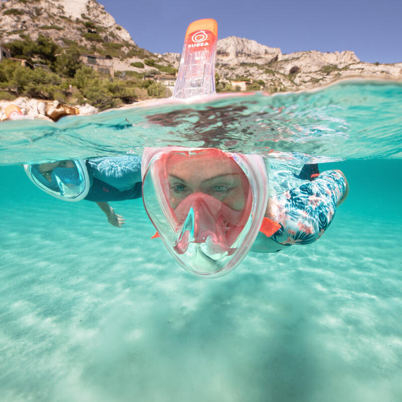 Les règles de sécurité en snorkeling, randonnée palmée