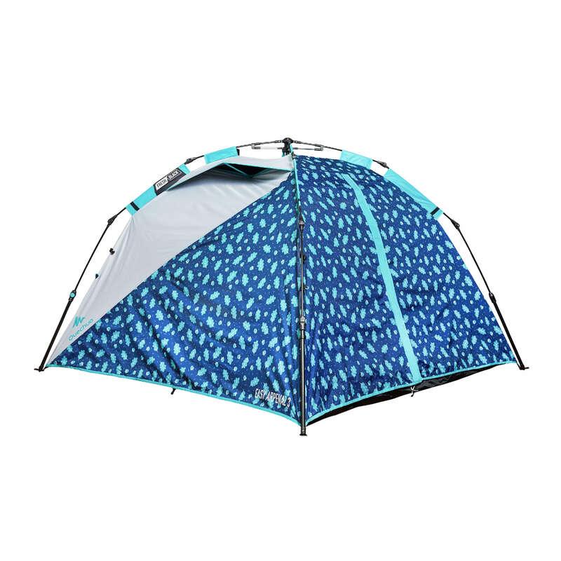 2-3 személyes sátrak Kemping - Sátor Arpenaz FRESH&BLACK  QUECHUA - Minden sátor