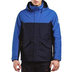 男款航海保暖外套300-藍色/軍藍色