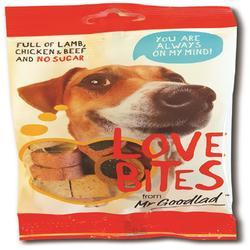Ricompense cani love bite 100g