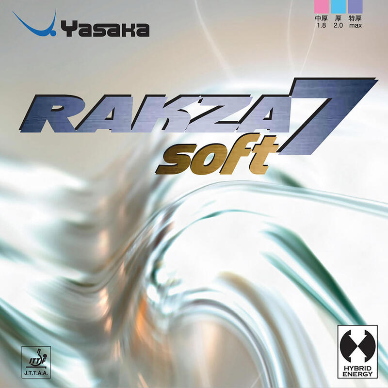 Față Paletă Tenis de Masă Rakza 7 Soft