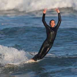 Olaian comment tomber en surf sans se faire mal