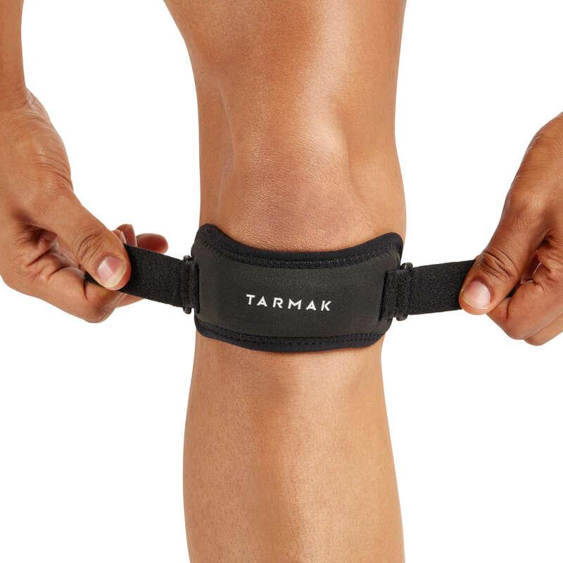 БАНДАЖИ, СУППОРТЫ Аксессуары - Фиксирующий ремень на колено TARMAK - Здоровье и уход