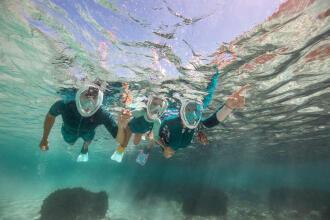 As regras de segurança no snorkeling, passeio aquático