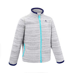 Girl's Fleece Jacket MH150 - Grey
