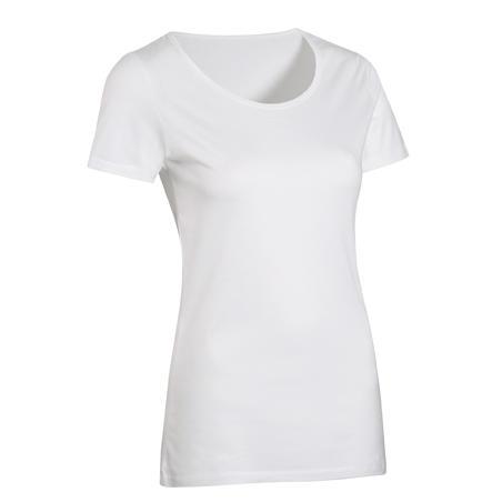 Playera Sportee 100% algodón mujer blanco