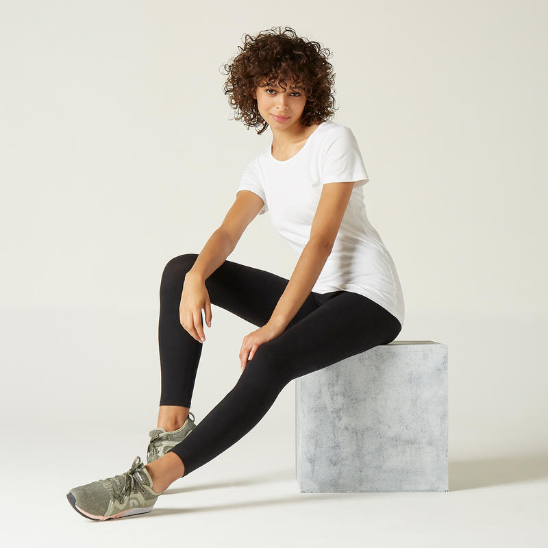 100 Sportee Pure Cotton Gym T-Shirt – Women