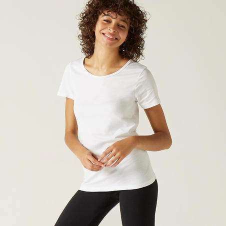100 Sportee Pure Cotton Gym T-Shirt – Women
