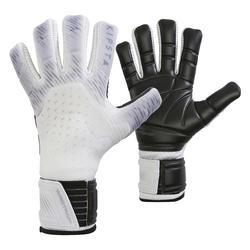 Luvas de Guarda-Redes de Futebol Costuras Negativas Adulto F900 Cold Cinza