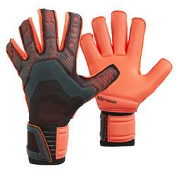 Keepershandschoenen F900 Rollfinger naad zwart/rood