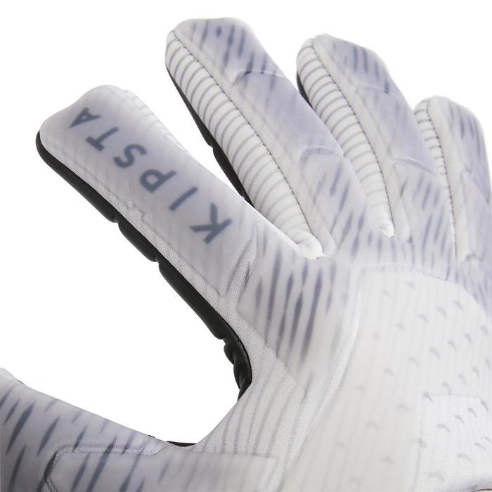 Keepershandschoenen voetbal volwassenen F900 cold negatieve naad grijs