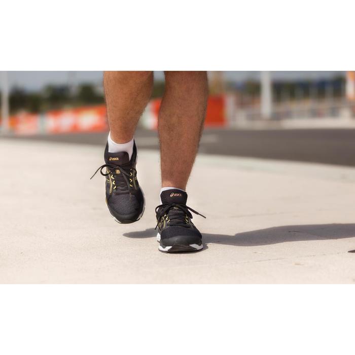 CHAUSSURE DE RUNNING HOMME ASICS GEL ZIRUSS NOIR OR
