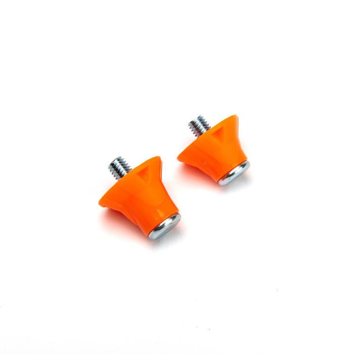 Crampons nylon 13-16mm pour chaussures de football rouge