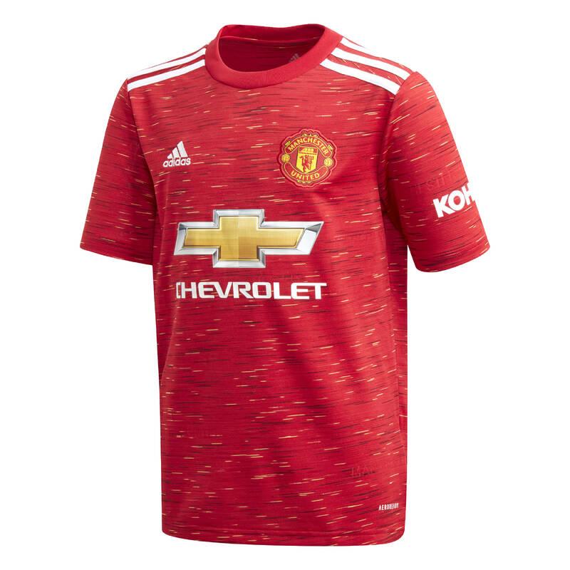 MANCHESTER UNITED Fotbal - DRES MANCHESTER UNITED JR ADIDAS - Fotbalové oblečení
