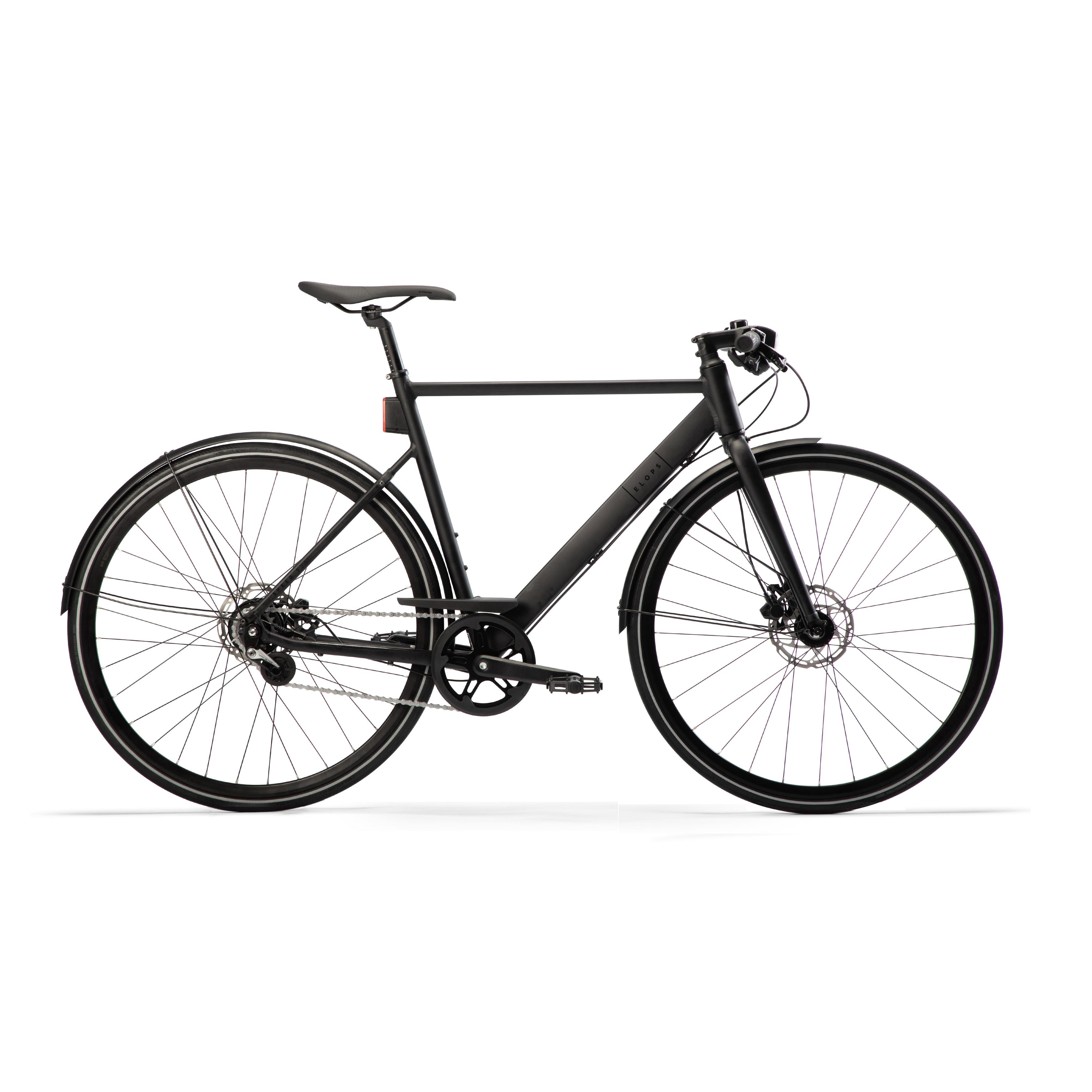 Bicicletă Elops 920 Negru la Reducere poza