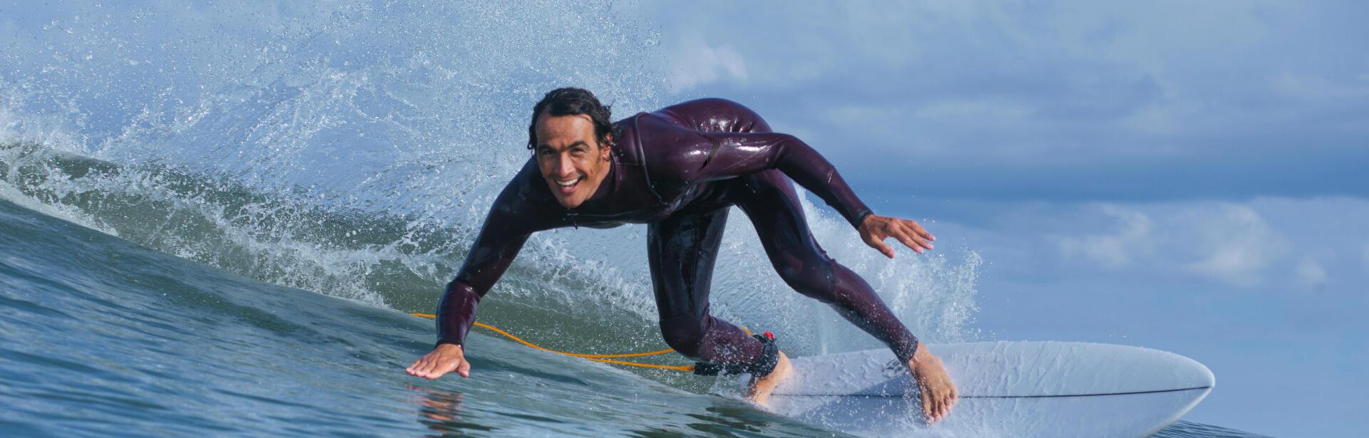 Entrainements de surf