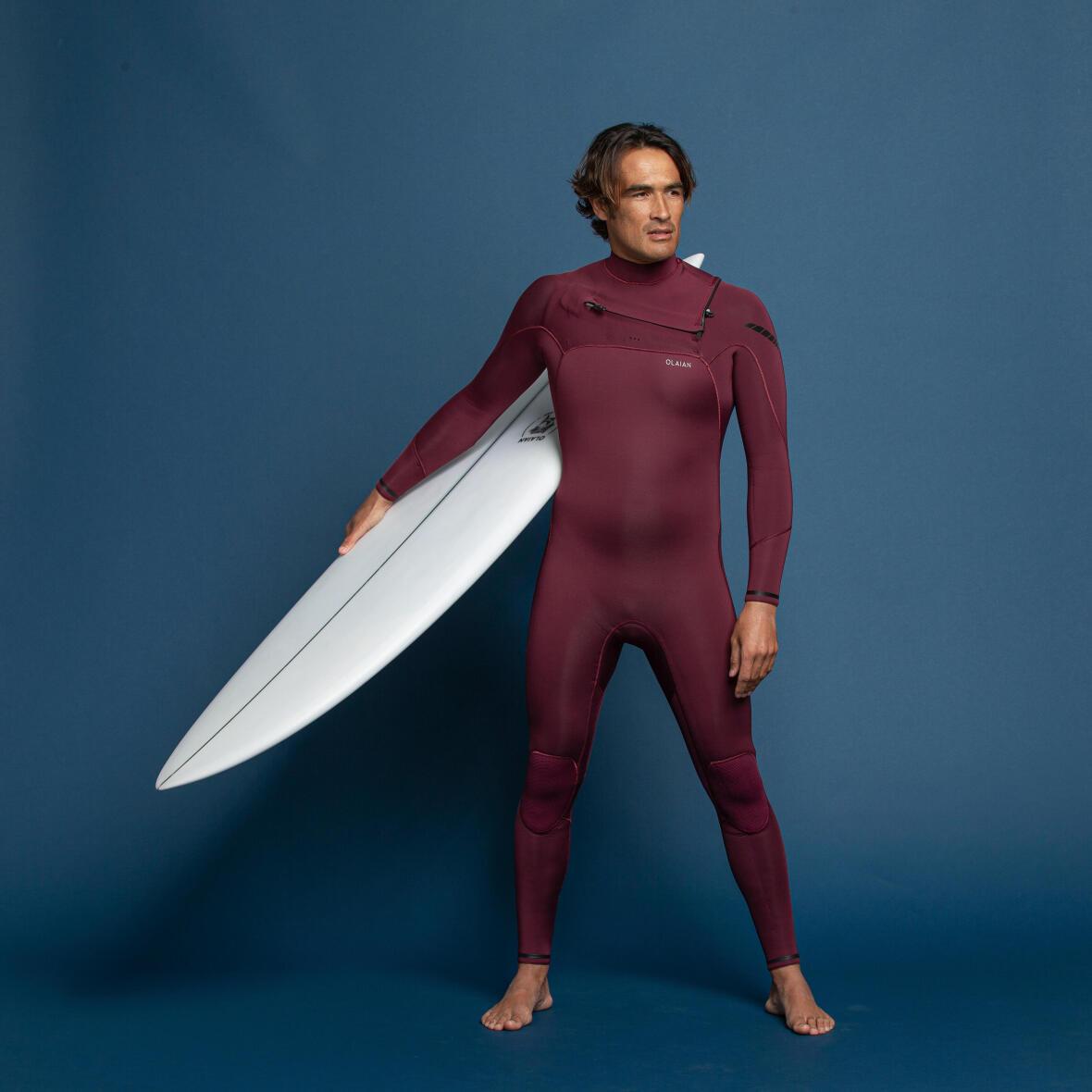 Olaian combinaison surf 900 néoprène 4 3 mm