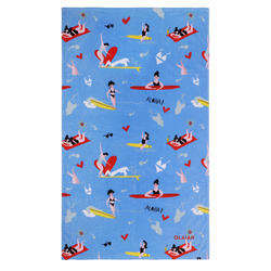 TOWEL CN L 145 x 85 cm - Surf Girl