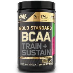 BCAA-aminozuren train & sustain aardbei-kiwi 266 g