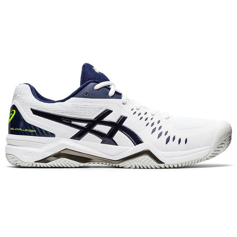 Zapatillas de Tenis Asics Challenger OI20 Tierra Batida Hombre Blanco