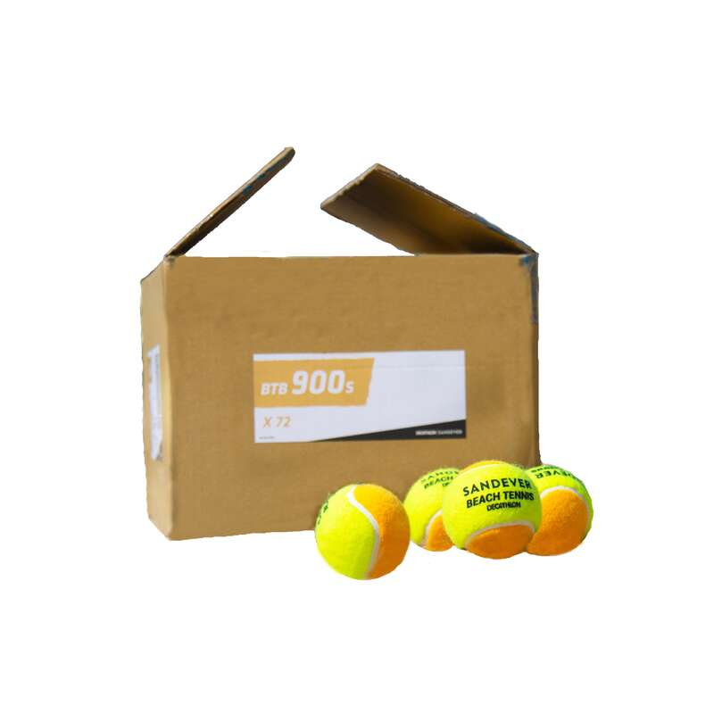 ПЛАЖЕН ТЕНИС Плажни спортове - топка BTB 900, 72 бр.  SANDEVER - Всички спортове
