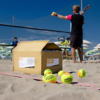 BALLE DE BEACH TENNIS BTB 900 ORANGE S X72