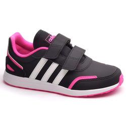 Calçado Caminhada Criança Adidas com Banda Autoaderente Switch Preto/Rosa